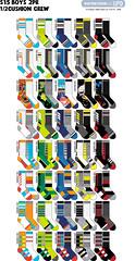 S15 Boys 108n crew v2 (boodiba) Tags: sockdesign hosierydesign surfacedesign target adobeillustrator photoshop graphicdesign