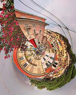 Surreal visión                                      Wiew from Bartolomeo Asquasciati  Sanremo