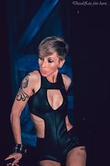 Back to Black.... (2forArt) Tags: beau1407derkinderen artistic woman model posing studio shoot