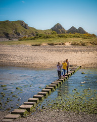 Weekend Walks (JDWCurtis) Tags: gower three cliffs bay threecliffsbay wales cymru southwales water thegower waterfront waterway river estuary sea beach people tourists tourism findyourepic leadinglines holiday