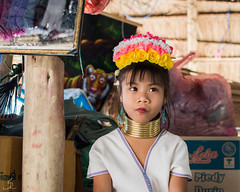Karen Long Neck Tribe (rehniz) Tags: people girl portrait karen long neck