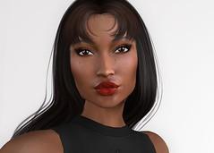 Zea (Alea Lamont) Tags: ndmd eden ethnic skins black female skin african face applier catwa bento head lee shape sintiklia hair group gift
