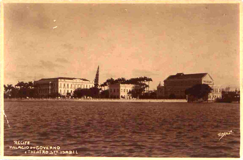 Palácio do Governo e Teatro Santa Isabel