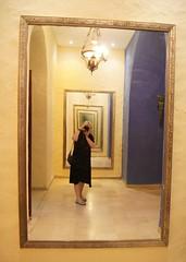 Fac-simile (Insher) Tags: tunisia yasminehammamet mirror medina تونس