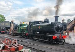 7714 & 813 (LMSlad) Tags: bridgnorth 813 port talbot 060 gwr 7714 severn valley railway