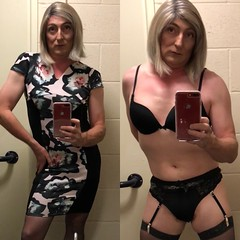 Before and after , well it is only bloomin Friday , have a great weekend all 💋 (emma_jay_park) Tags: lingerie suspenders stockings emmajay emmajaypark blonde boy2girl boytogirl mtf xdressing xdresser xdress crossdresser crossdress crossdressing cd transvestite transsexual transformation trannies tranny trans tv