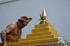 Raising of the Hanumanji Flag Pole