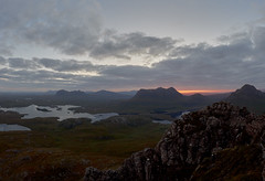 Autumn Morning on Stac Pollaidh (tthef) Tags: scotland assynt inverpolly stacpollaidh culmor culbeag suilven canisp quinag