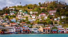 St. George's, Grenada - On the Waterfront (J Price - Alabama) Tags: grenada cruise waterfront sea caribbean houses island spiceisland westindies wi beautiful coastline beach