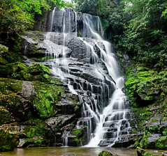 Eastatoe Falls (ArmyJacket) Tags: eastatoefalls shoalcreek rosmannc northcarolina westernnc blueridgemountains appalachians mountains waterfall water creek river stream rocks moss trees outdoors scenic
