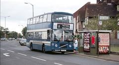 Great Yarmouth Transport 41? (Lady Wulfrun) Tags: greatyarmouth e41oah september 1990 bluebus volvo b10m eastlancs 41 greatyarmouthtransport transport 8 route service