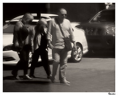 """""""Where They Have Never Been"""" (Galen911) Tags: mesillanewmexicousa oldmesillavillage calledeguadalupe windowreflection tourists streetlife streetphotography streetview streetphoto candid informal monochrome"""
