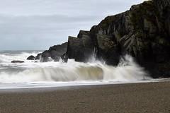 Waves at Gwbert, Wales (teammcdyre) Tags: waves longexposure wales cardiganbay cardigan seascape rocks storm stormy rough