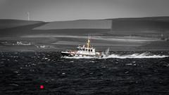 Pilot Delivered (MBDGE >1.4 Million Views) Tags: pilot pliotage ship boat mono sera