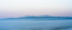 Cold Awakening ❄ (danmos_photo) Tags: slovakia high tatras landscape morning sunrise mood fog blue hour sony a7 iii 85mm light sky mountain mist avril