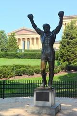 Philadelphia, PA - Philadelphia Museum of Art - Rocky Statue (jrozwado) Tags: northamerica usa pennsylvania philadelphia museum art statue rocky filminglocation onlocation