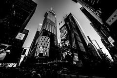 New YorkBW0055 (schulzharri) Tags: new york usa amerika america city town stadt schwarz weis monochrome black white times square scyscraper hochhaus travel reise
