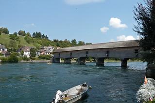 Border bridge over the Hochrhein ... (1180023)