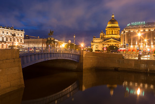 Sleepless in Peter | Saint Isaac's Cathedral, St. Petersburg, Russia