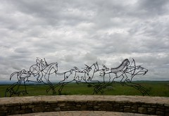 Indian Memorial - Little Bighorne (Iris@photos) Tags: little bighorn battlefield national monument indian memorial usa montana histoire bataille custer indien