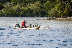 Outrigger on the Water 3282 (Ursula in Aus - Travelling) Tags: jimclinephototour milnebay png papuanewguinea tawali