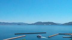 Blue Sky & Sea (yukky89_yamashita) Tags: 大津島 山口 周南市 yamaguchi shuunan port island sky sea ferry boat