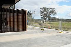 Mernda Station (martyr_67) Tags: mrep mernda rail infrastructure corten periurban cities redgum eucalyptus camaldulensis