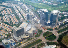 PIK Centre (Ya, saya inBaliTimur (leaving)) Tags: jakarta building gedung architecture arsitektur office kantor fotoudara aerialview kota city