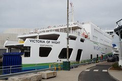 Wightlink 'Victoria of Wight' - Portsmouth (Neil Pulling) Tags: wightlink victoriaofwight portsmouth carferry ferries uk hampshire ship transport