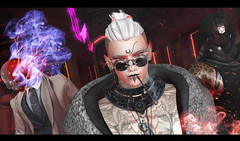 [ G o d s ] (Ranmyaku Haiku) Tags: gods krova doom men male supernatural boss gang paranormal scifi cyberpunk