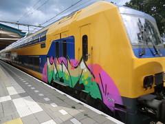 graffiti trein (remcovdk) Tags: graffiti treinen