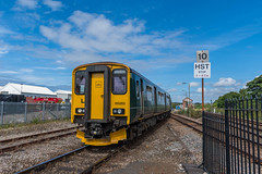 150263+150244, St Erth (Hope Trains) Tags: 150244 greatwesternrailway 150263 class150 stivesbranchline sterth
