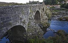 A Ponte Maceira, Ames/Negreira (A Coruña) (Miguelanxo57) Tags: puente rio piedra medieval caminodesantiago pontemaceira ames negreira acoruña galicia cantería arquitectura