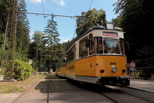 Tram in Sächsische Schweiz