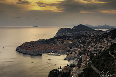 Dubrovnik ([CamCam]) Tags: green game thrones fort sunset town old medieval city croatia