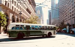 1956 Mack Coach 2230 (waltarrrrr) Tags: flixbustrip september8 2018 saturday sanfrancisco bus muniheritageweekend muni sfmuni sf transit publictransit