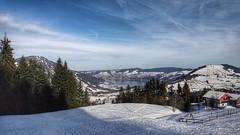 Ägerisee (sander_sloots) Tags: ägerisee sattel hochstuckli mountain bergen swiss lake mountains snow sneeuw landschap landscape zwitserland suisse schweiz schwyz zug kanton canton