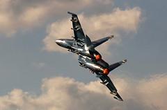 Turn and burn (crusader752) Tags: ukranianairforce sukhoi su27p flanker blue58 display belgianairforcedays airshow spottersdag kleinebrogelairbase