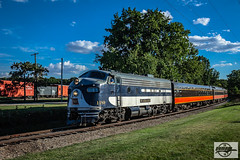 Northbound MRYM Train at Monticello, IL (Mo-Pump) Tags: train railroad railfan railroader railway railroading railroads locomotive