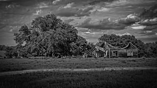 Old Oklahoma Farmhouse