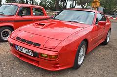 Porsche 924 Carrera GT (benoits15) Tags: porsche 944 carrera red german supercar castellet ricard paul voitures coches