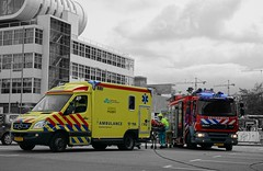Brandweer Rotterdam-Rijnmond (Keyenburg) 17-3331 & Ambulancezorg Rotterdam-Rijnmond 17-114 (Boss-19) Tags: ambulancezorg rotterdamrijnmond | wereldhavendagen wilhelminakade kop van zuid feijenoord rotterdam zuidholland nederland the netherlands ambulance post breslau barendrecht stationed mercedes benz sprinter e6 callsign 17114 miesen type c 1kjv41 brandweer veiligheidsregio safety region charlois keyenburg fire department baan daf fflf55280 gemcogodiva in service since 2014 173331 17bdj3 tankautospuit tas pump engine| kazerne boss19 173751 179332 de zwaan swan demo harbor port