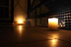 Shrine (Project134) Tags: candle bokeh macro reflection