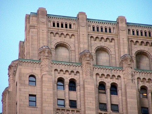 Toronto Ontario - Canada -  Bank of Commerce - 1927 - Architecture Art Deco - Observation Deck