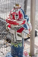 Lake Worth Dog Post (LarryJay99 ) Tags: lakeworth florida streets firehydrant urbanarts urban painted corner lakeworthflorida