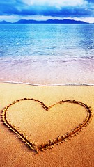 Hey (gbrhan) Tags: beach sea sand shape heart coastline travel day symbol tranquil summer blue sky scene water nature ideas destinations love wave holiday objects sketch beauty valentines sunlight view horizontal sign locations drawing sun image single feelings island natural tropical cloud seascape resort background romance coast shore romantic vacation horizon paradise concept beautiful landscape space relax