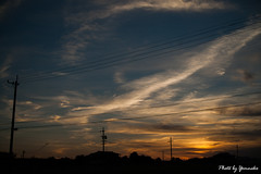 (yomoneko1) Tags: sony α900 dusk sunset sun sky cloud
