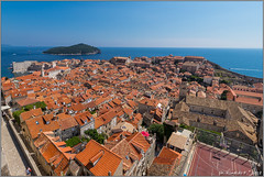 panorama.dubrovnik@croatia (Rinaldofr) Tags: canon6dmkii canonef1635f4is dubrovnik croatia summer panorama sea center boundary walls