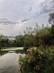 22 9 18 7 3 (marc.barrot) Tags: cloudy london reflection heath hampstead pond bright dawn