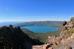 Overview of Paulina Lake (daveynin) Tags: oregon newberry lake peak caldera